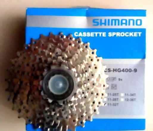 Кассета 9 скоростей, shimano CS-HG400-9, 11-32Т