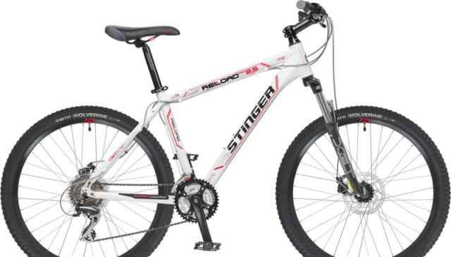 новый велосипед Стингер Reload 2.5 26 19.5