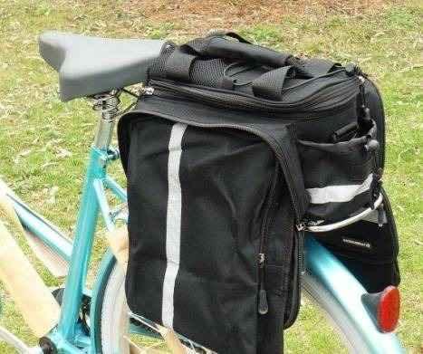 Велосипедная сумка-штаны-трансформер