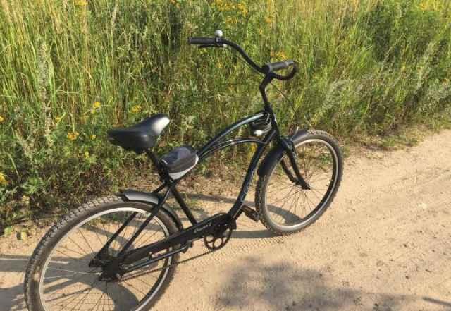 Велосипед Электра Крузер 1 блэк,блак