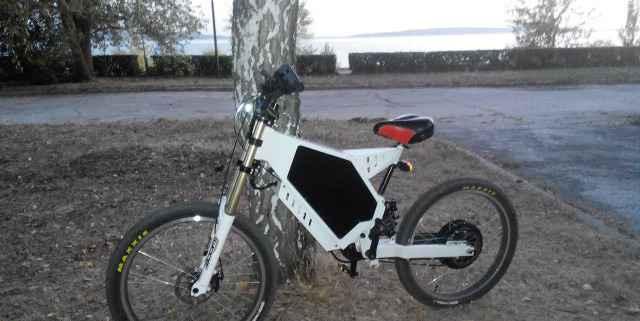Электровелосипед на раме Стелс(horizont) Пермь