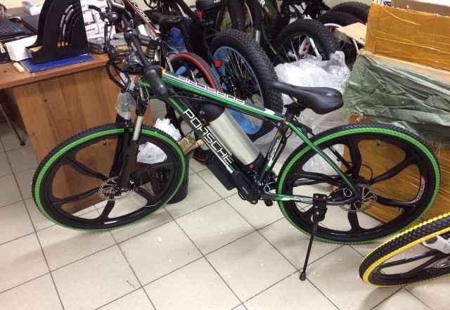 Электровелосипед, Велогибрид
