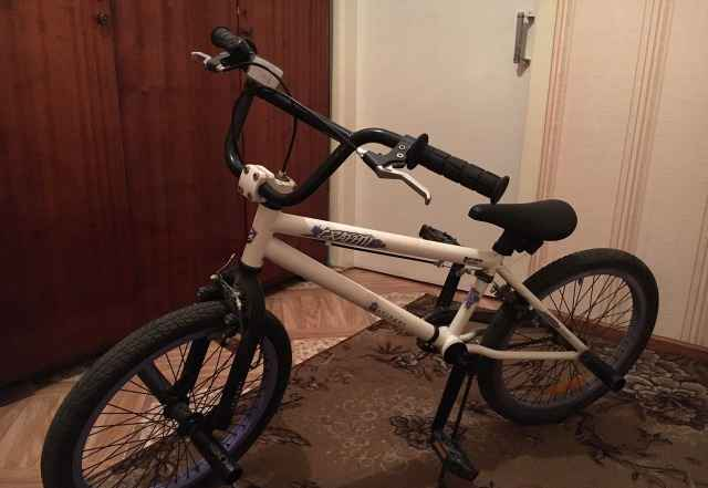 Велосипед 20д.стингер BMX graffitti, белый