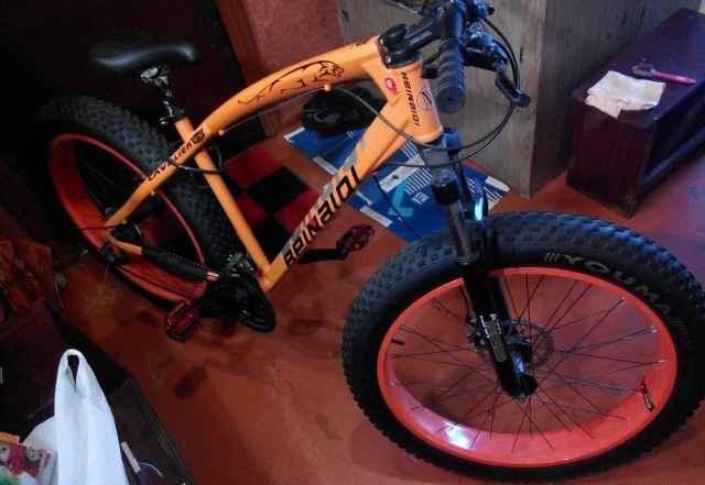 Велосипед фэтбайк beinaidi новый fatbike