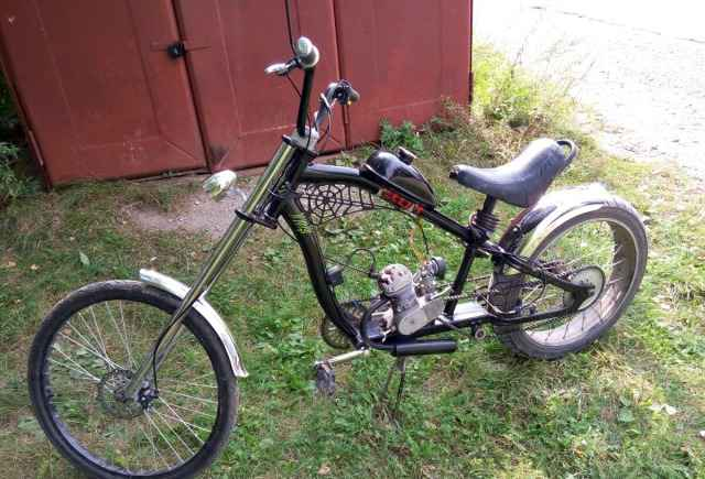 Чоппер вело-мопед