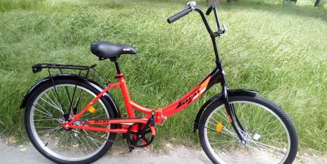 Новый велосипед складной Кельт