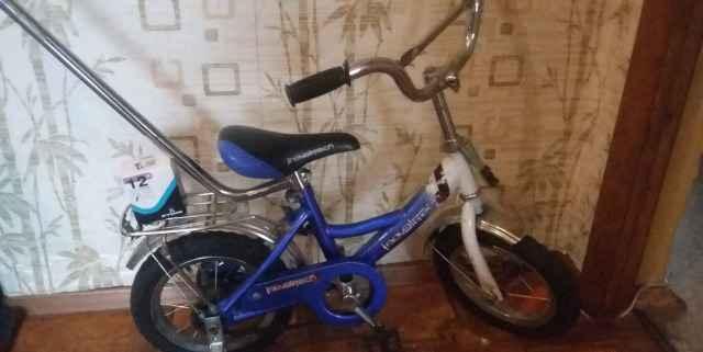 Детский велосипед диаметром колес 12'
