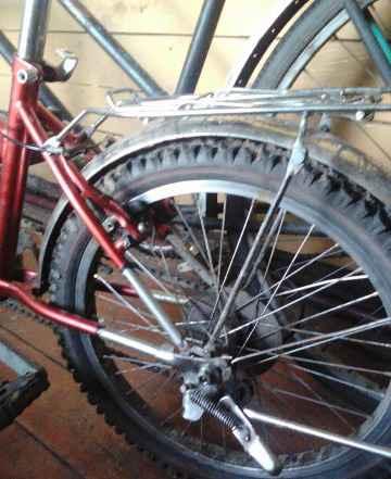 немного б/у велосипед