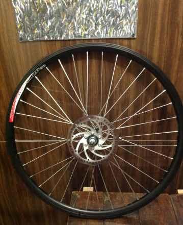 Велосипедный (двойной) задний обод: диаметр 26