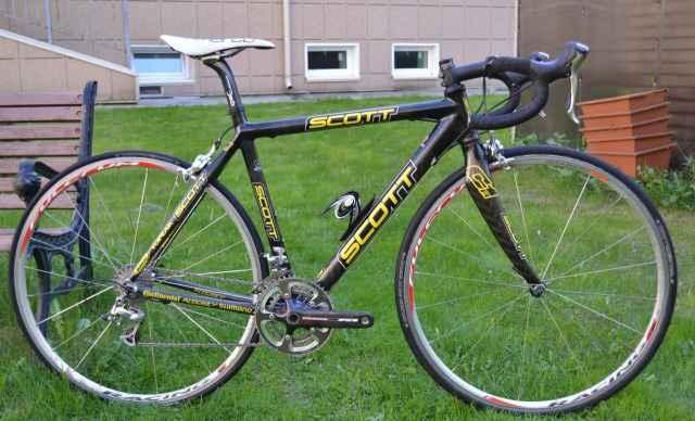 Велосипед Scott CR1 Full Carbon Dura Айс