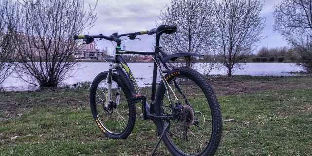 Велосипед горный Stark Router Disc (2014) с з/ч