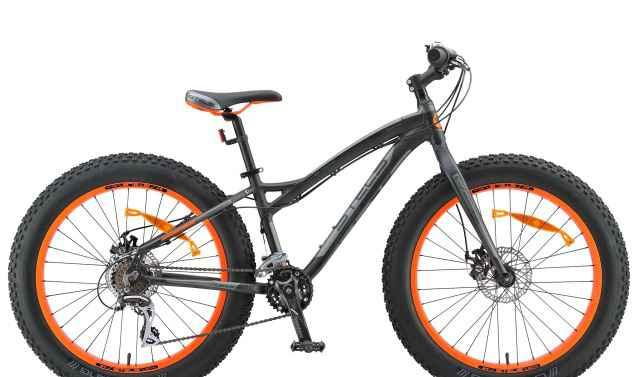 Велосипед FatBike Стелс Навигатор 480 MD графит