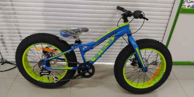Велосипед FatBike Стелс Пилот 280 MD синий