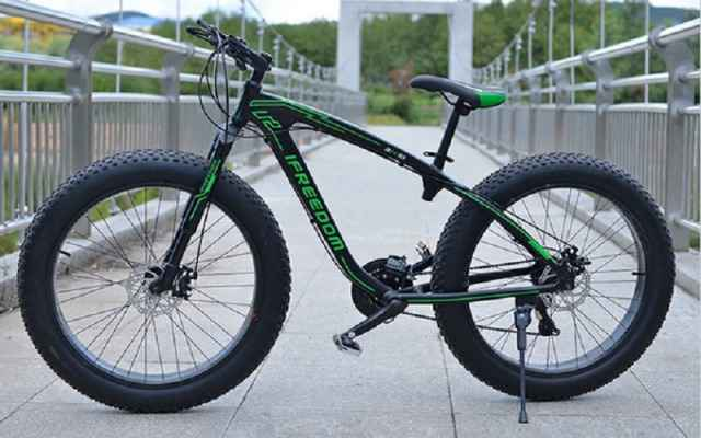 Велосипед (Фэтбайк, Fatbike)