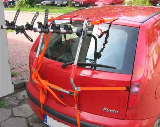 Багажник для перевозки 3-х велосипедов