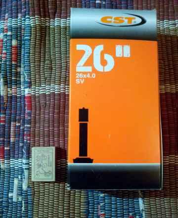 Велокамера CST 26X4.0 Fat Байк (ниппель авто)