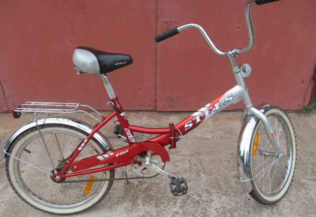 Складной велосипед Стелс Пилот 410 (2015) года