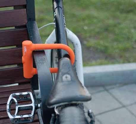 Новый велосипедный замок
