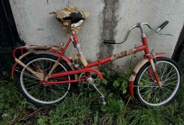 Новый велосипед Кама из СССР, советский, 91 г.в