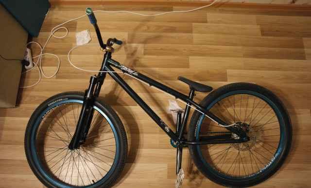 Велосипед dirt кастом Commencal Absolut crmo 2