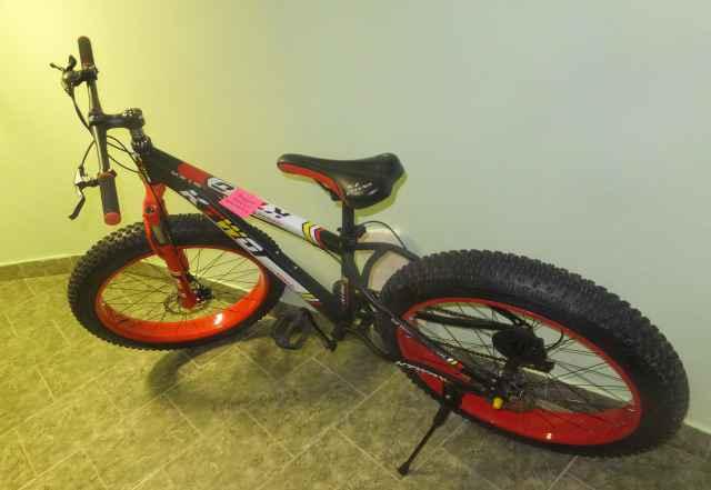 Горный велосипед фетбайк