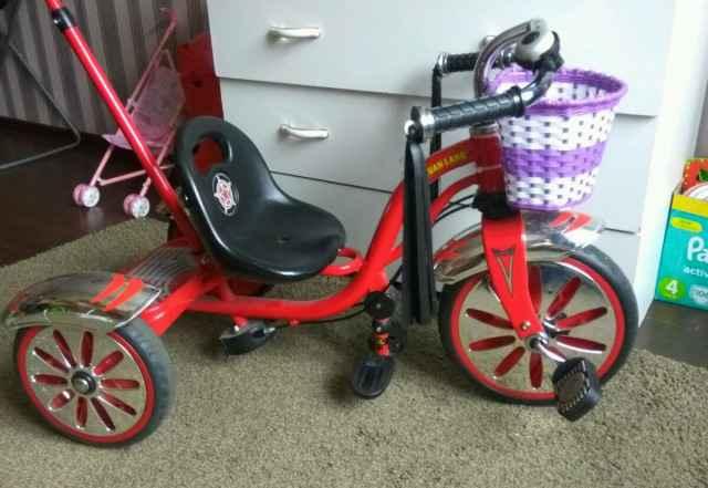 Детский 3х колесный велосипед каталка