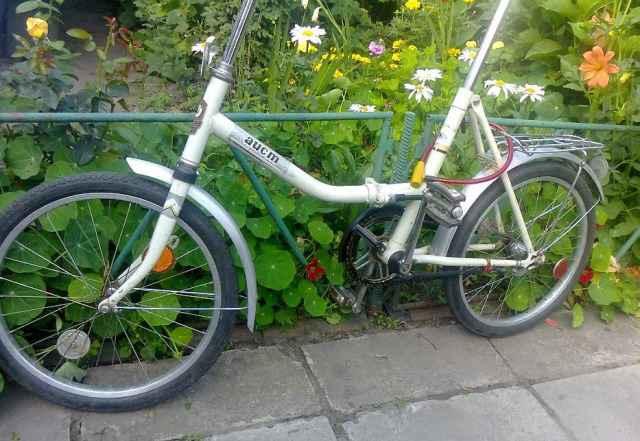 Велосипед складной аист в отличном состоянии
