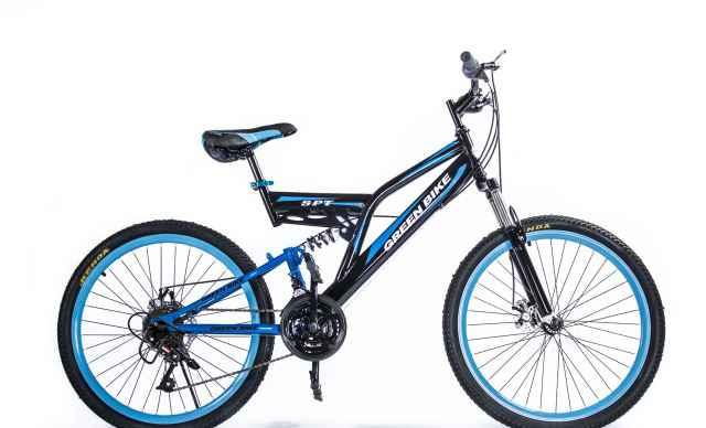 Велосипед Green Байк LX SPT (двухподвес)