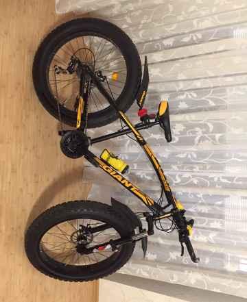 Велосипед фейт байк, толстые колеса, вездеход