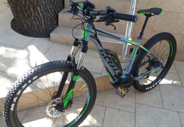 Электро велосипед Scott E-Scale 720 Plus 2017года