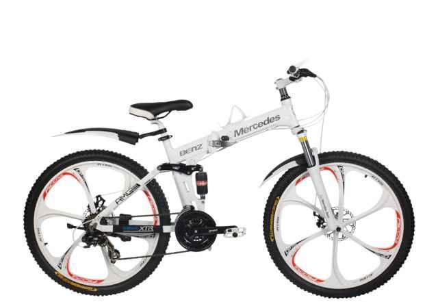 Велосипед на литых дисках Мерседес