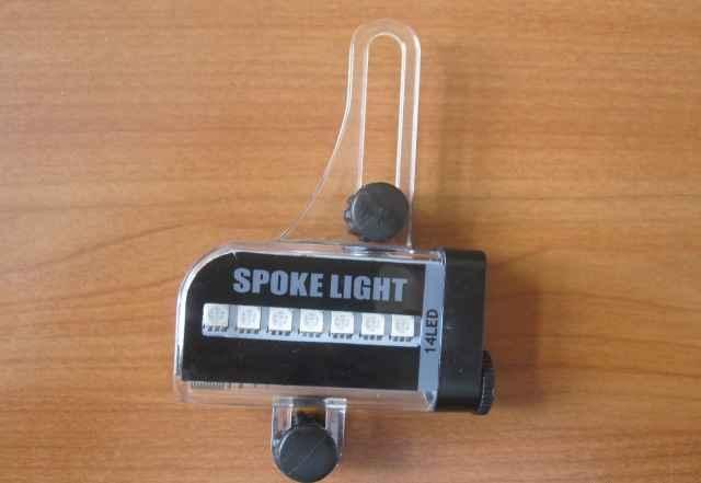 Светодиодные индикаторы на спицы мото/вело