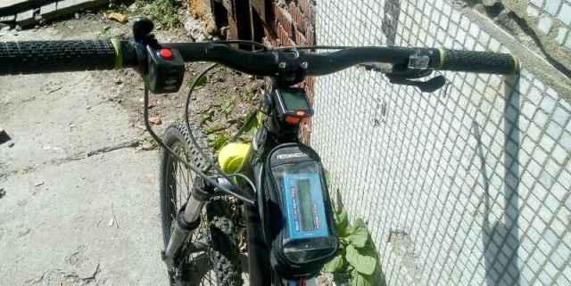 Электровелосипед двухподвес mangoose salvo
