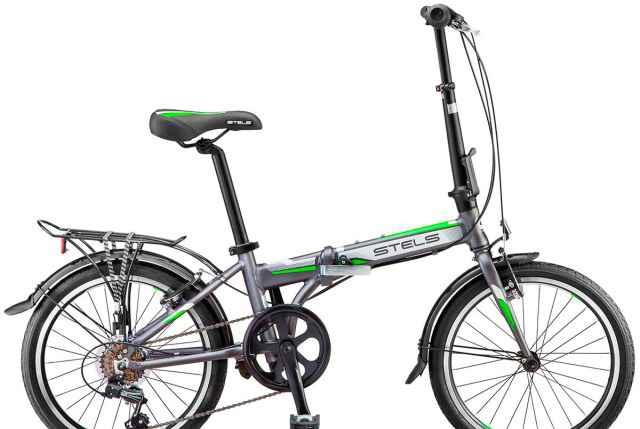 Складной велосипед с аллюминиевой рамой