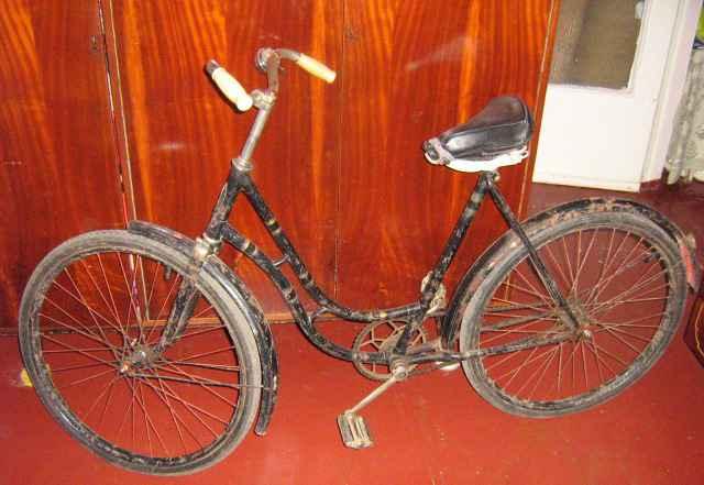 редкий дамский велосипед СССР