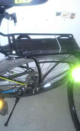Багажник для горного велосипеда