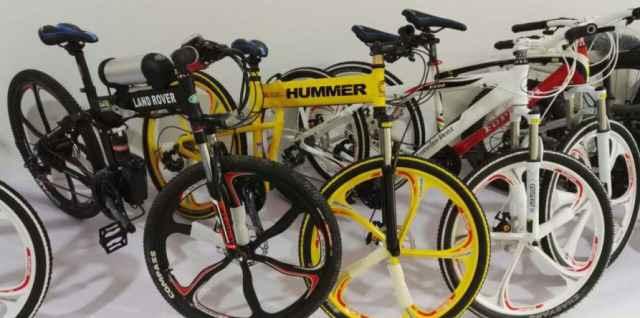 Велосипеды, Фэтбайк на литых дисках