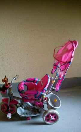 Трёх колесный велосипед для девочки