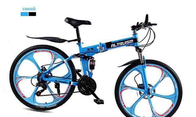 Новый велосипед Altruism горный