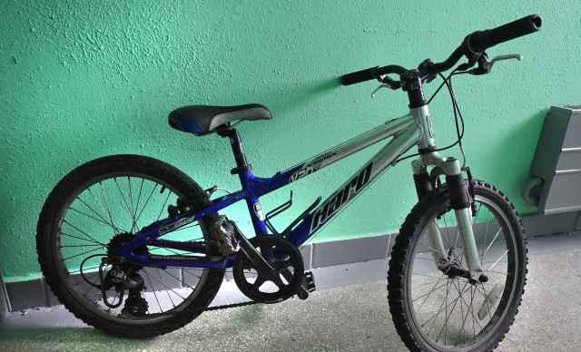 Велосипед Haro с алюминиевой рамой и амортизатором