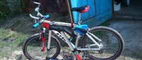 Велосипеды типа A-Байк складной, красный