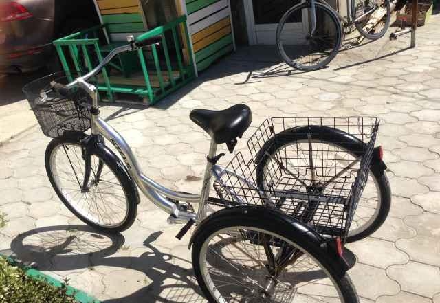 Стелс Energy Трехколёсный взрослый велосипед