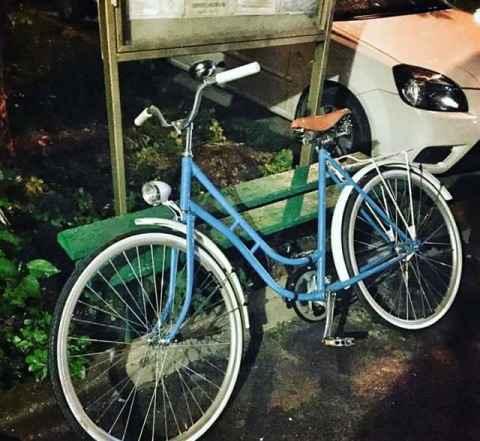Ретро велосипед дамский