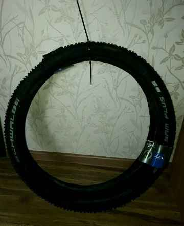 Покрышка Schwalbe Смарт Sam Plus 27.5x2.25 Green