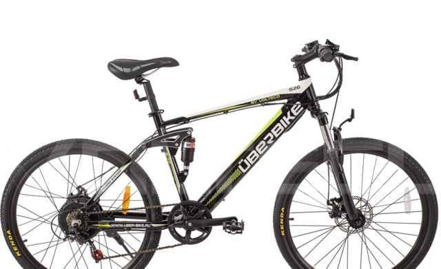 Электровелосипед Uberbike H26 350W white