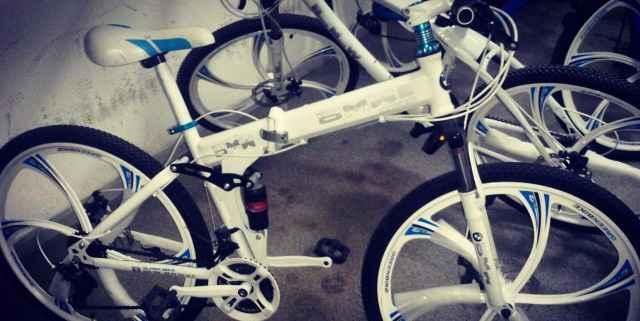 Велосипед на литых дисках бмв Ульяновск