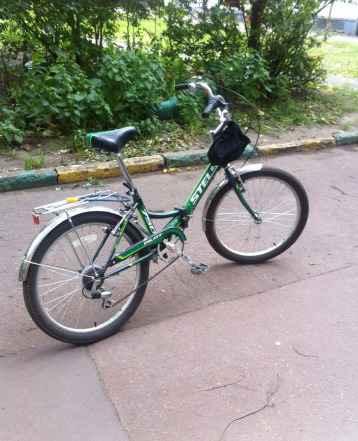 Велосипед Стелс складной 6 скорост новый легкий
