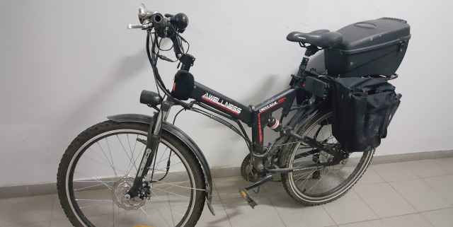 Электровелосипед Wellness Кросс dual 1000w б.у