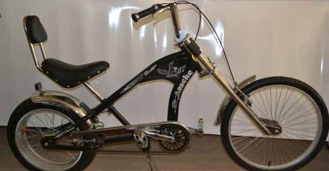 Новый велосипед - чоппер