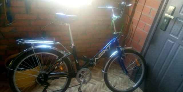 Велосипед next прогулочный, складной 18ск